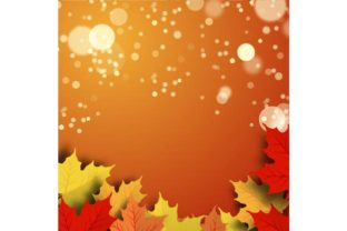 Vector Illustration of a Beautiful Autumn Background Graphic By ojosujono96