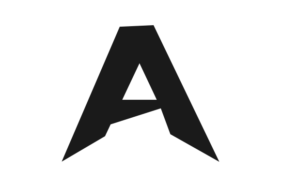 Print on Demand: Vector of Simple Logo Letter a Graphic Logos By gasemraya