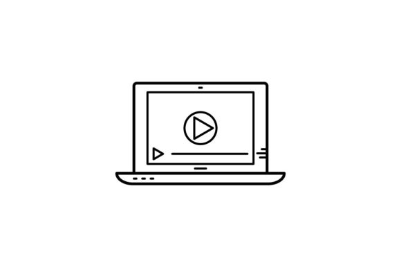 Print on Demand: Video Tutorial Graphic Icons By khld939