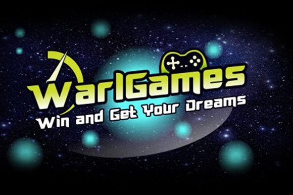 Print on Demand: Warlgames Display Font By leamsign
