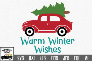 Download Free Warm Winter Wishes Christmas Svg Cut File Graphic By for Cricut Explore, Silhouette and other cutting machines.