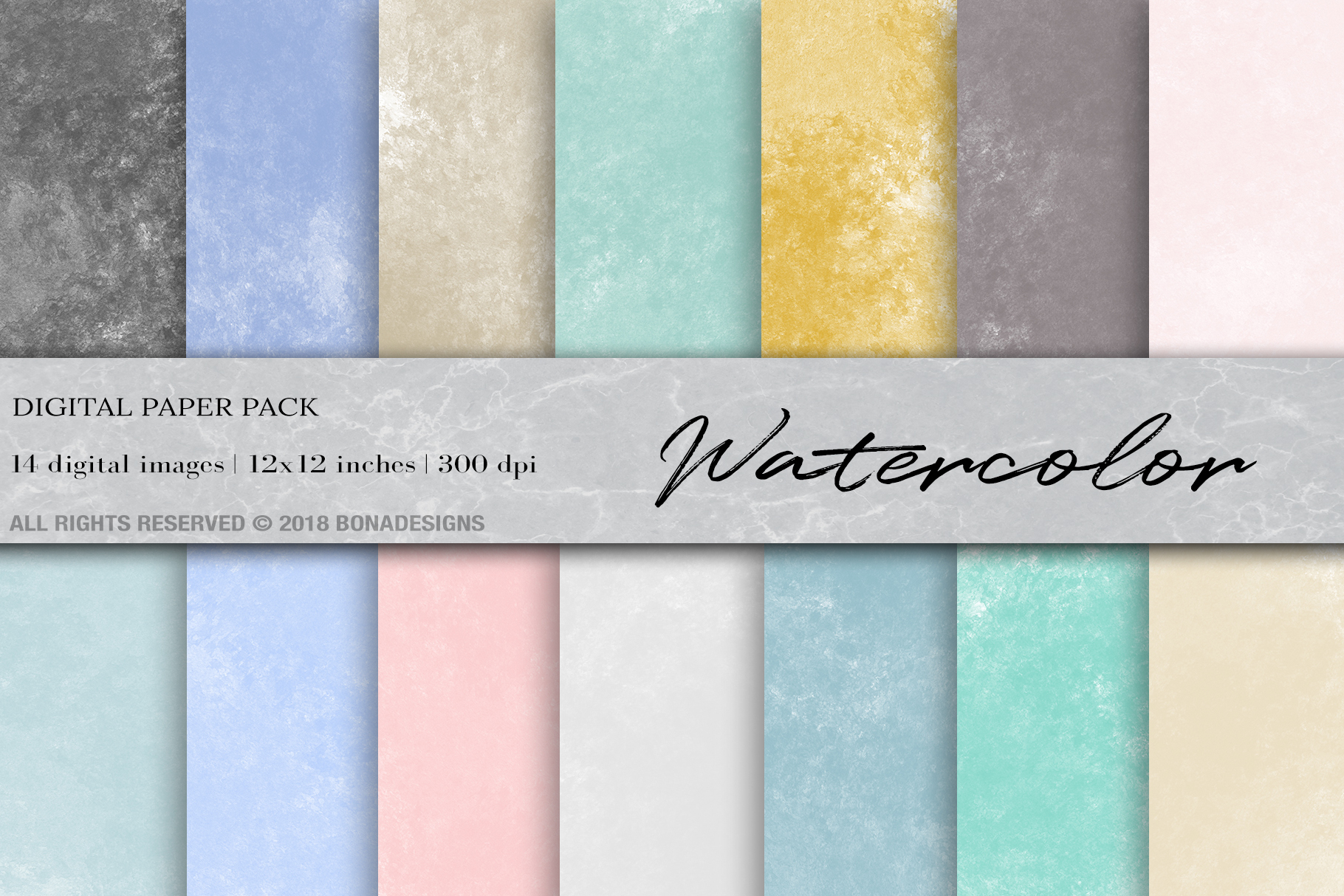 Download Free Watercolor Digital Paper Graphic By Bonadesigns Creative Fabrica for Cricut Explore, Silhouette and other cutting machines.