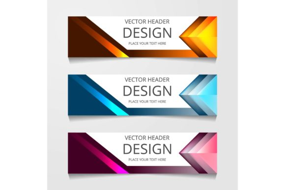 Download Free Web Banner Design Graphic By Ojosujono96 Creative Fabrica for Cricut Explore, Silhouette and other cutting machines.