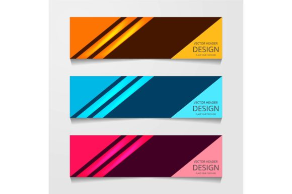 Print on Demand: Web Banner Template Graphic Graphic Templates By ojosujono96 - Image 1