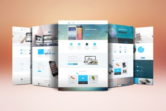 Website Display Mockup Graphic Product Mockups By R-GraphicsDesign