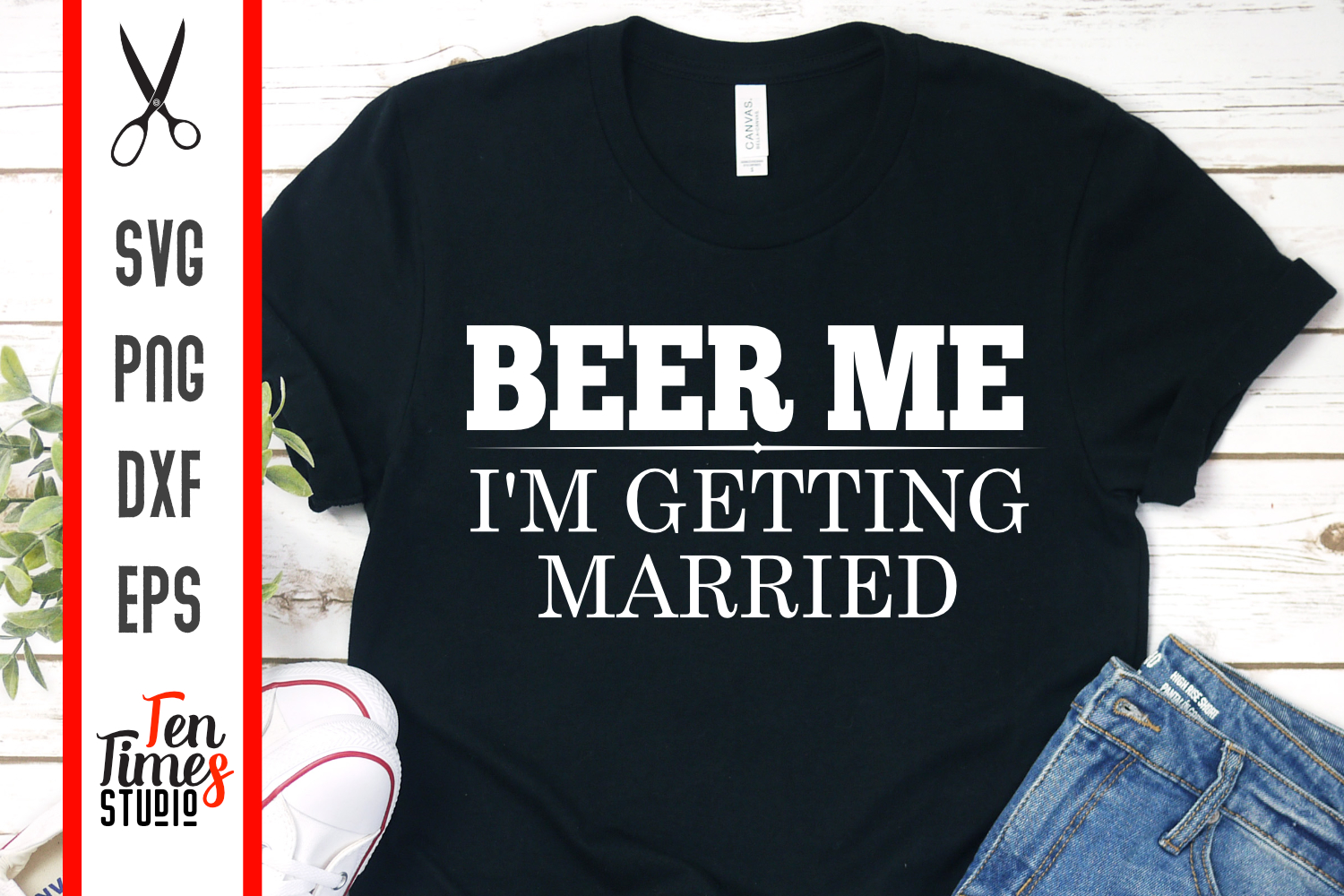 Download Free Wedding Groom Bride Beer Me Graphic By Ten Times Studio for Cricut Explore, Silhouette and other cutting machines.