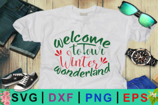 Welcome to Our Winter Wonderland SVG Graphic By Design Palace
