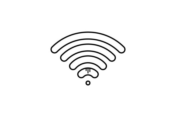Print on Demand: Wifi Graphic Icons By khld939