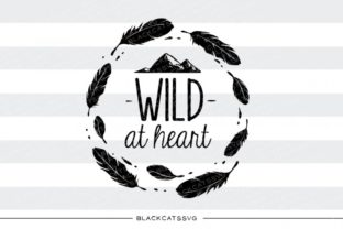 Wild at Heart Graphic By sssilent_rage