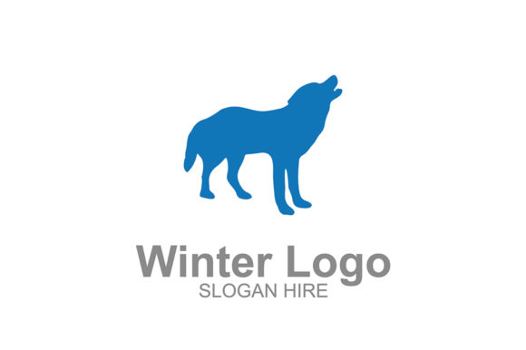 Download Free Winter Dog Logo Icon Graphic By Guardesign Creative Fabrica for Cricut Explore, Silhouette and other cutting machines.