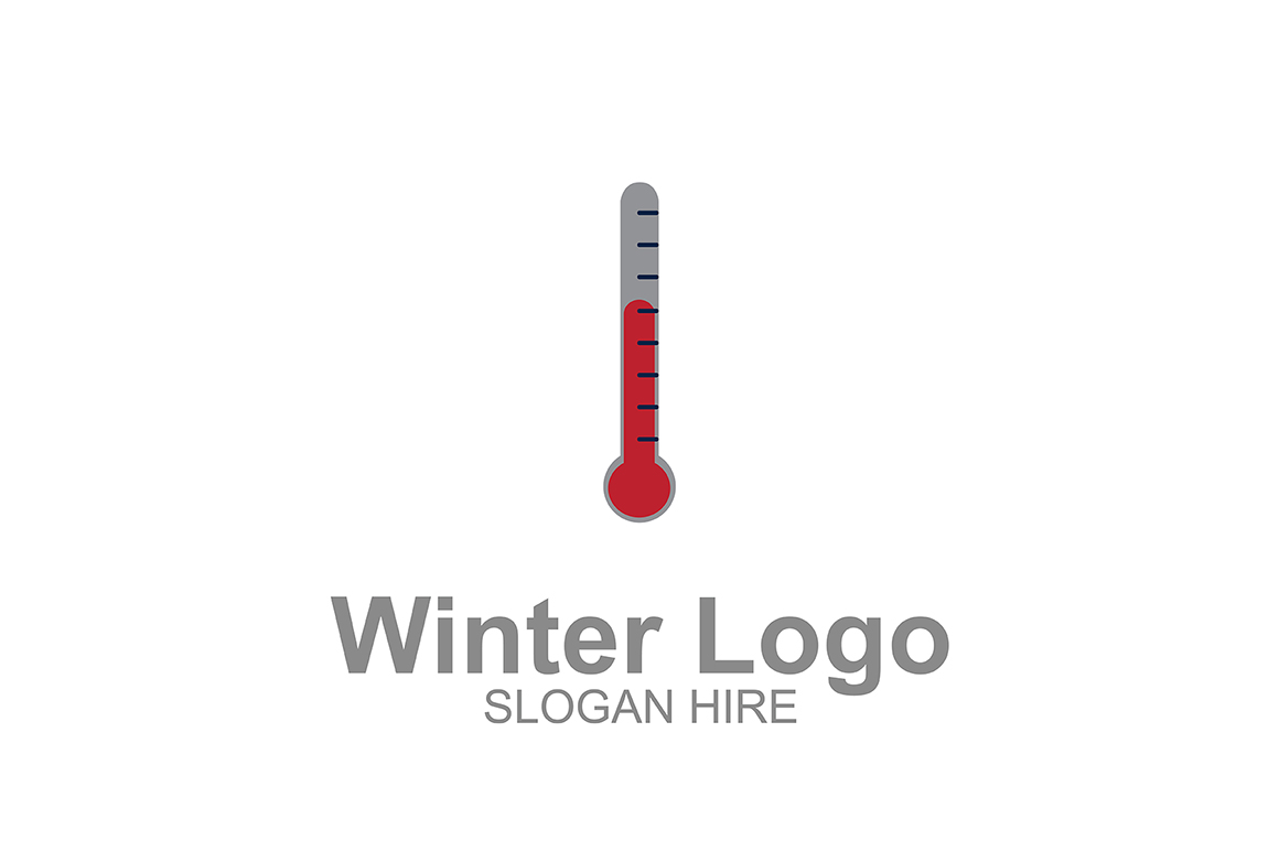Download Free Winter Termometer Logo Icon Graphic By Guardesign Creative Fabrica for Cricut Explore, Silhouette and other cutting machines.