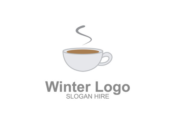 Download Free Winter Hot Coffee Logo Icon Graphic By Guardesign Creative Fabrica for Cricut Explore, Silhouette and other cutting machines.