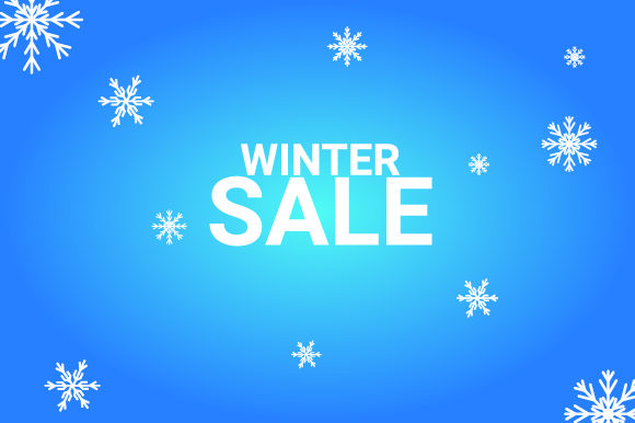 Print on Demand: Winter Sale Graphic Backgrounds By nirmala.graphics