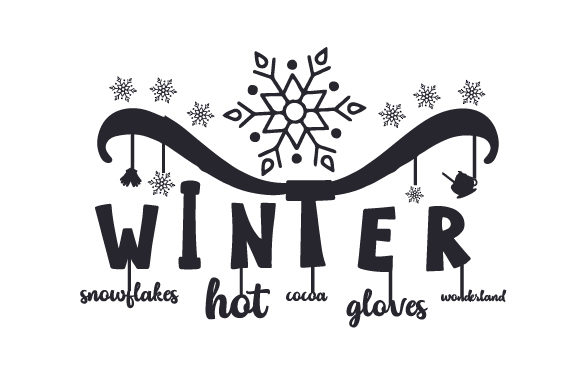 Winter Christmas Craft Cut File By Creative Fabrica Crafts - Image 2