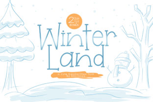Winterland Display Font By Khurasan
