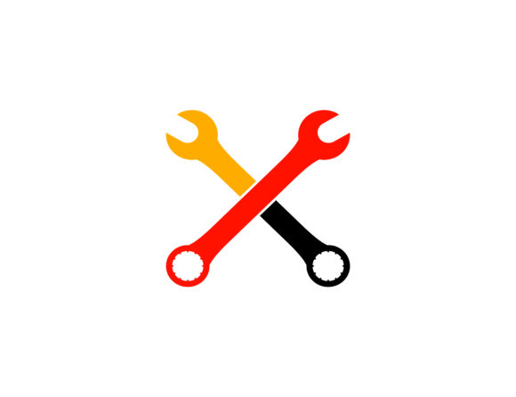 Print on Demand: Wrench Automotive Repair Service Logo Graphic Logos By meisuseno - Image 1