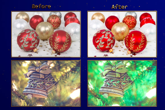 Download Free Xmas Christmas Ornaments Lr Presets Graphic By Pandoradreams for Cricut Explore, Silhouette and other cutting machines.