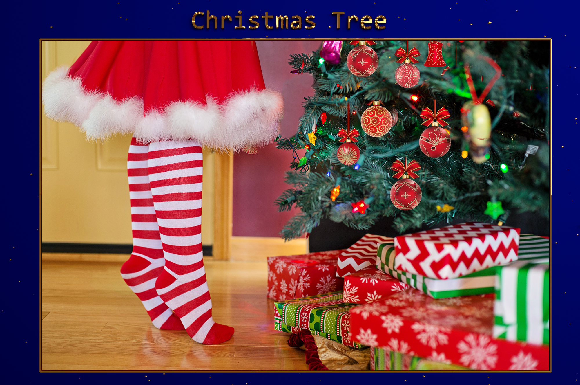 Download Free Xmas Christmas Tree Lr Presets Graphic By Pandoradreams for Cricut Explore, Silhouette and other cutting machines.