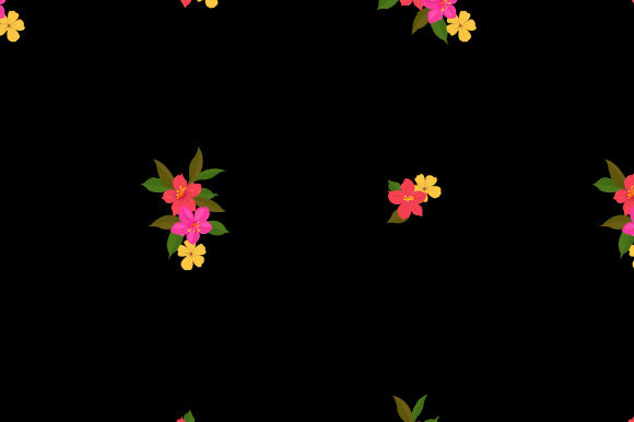Print on Demand: Cute Vintage Pattern Seamless Floral Graphic Patterns By iop_micro