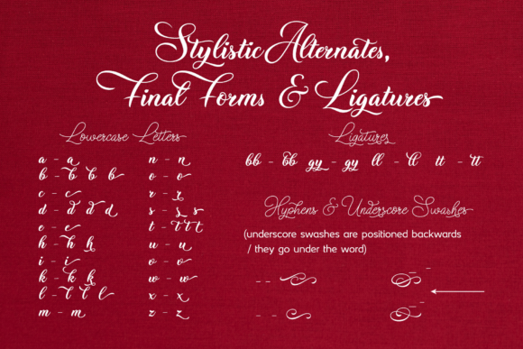Christmas Wish Font Preview