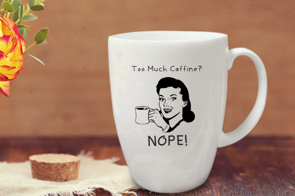 Print on Demand: 18 Funny Tea and Coffee Mug Graphics Graphic Illustrations By GraphicsBam Fonts
