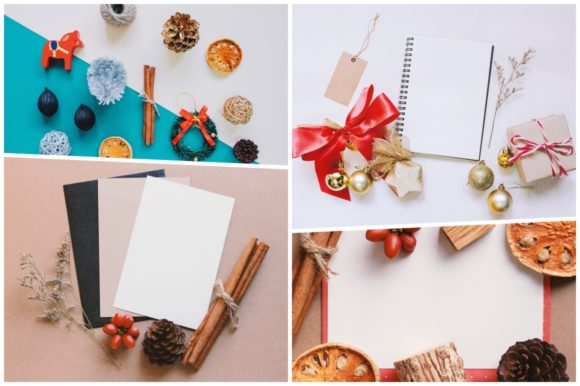 20 Holiday Flat Lay Items Graphic Holidays By Nuchylee - Image 2
