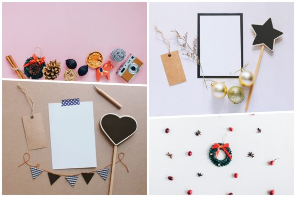 20 Holiday Flat Lay Items Graphic By Nuchylee Image 3