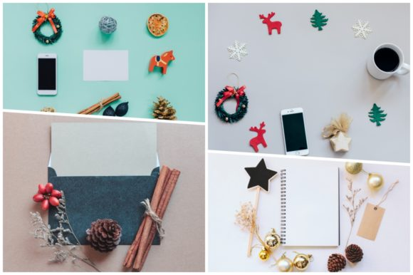 20 Holiday Flat Lay Items Graphic Holidays By Nuchylee - Image 5