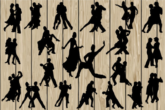 Download Free 20 Tango Graphic By Cosmosfineart Creative Fabrica for Cricut Explore, Silhouette and other cutting machines.