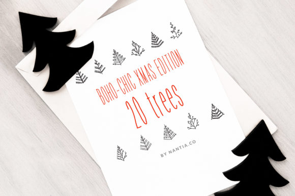Download Free 20 Xmas Vector Svg Trees Graphic By Nantia Creative Fabrica SVG Cut Files