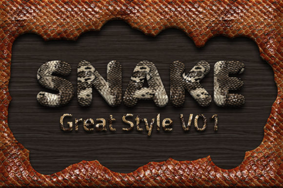 Print on Demand: 36 Reptile Skin Styles Graphic Layer Styles By yantodesign