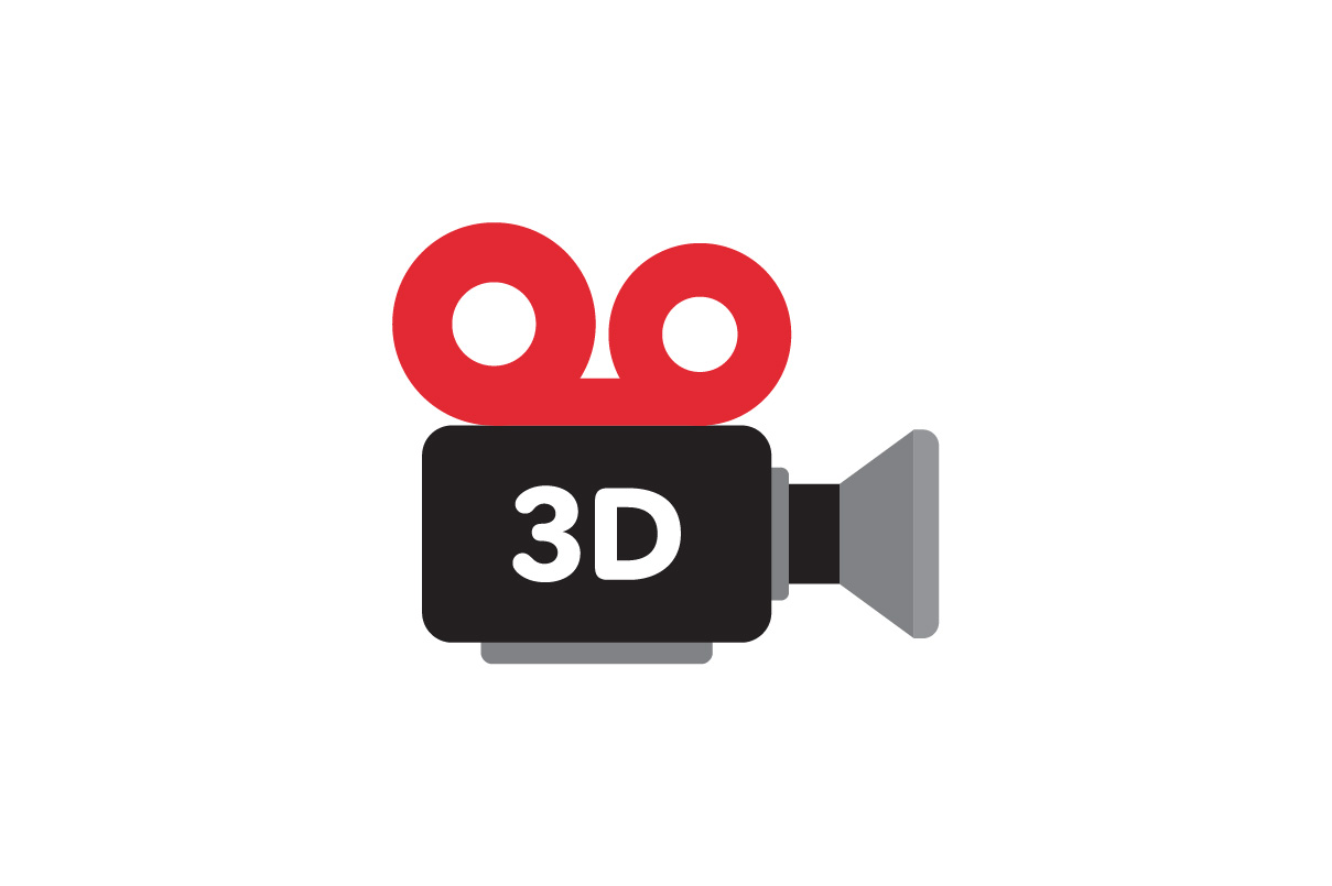 Download Free 3d Camera Videographer Camera Film Movie Icon Graphic By for Cricut Explore, Silhouette and other cutting machines.