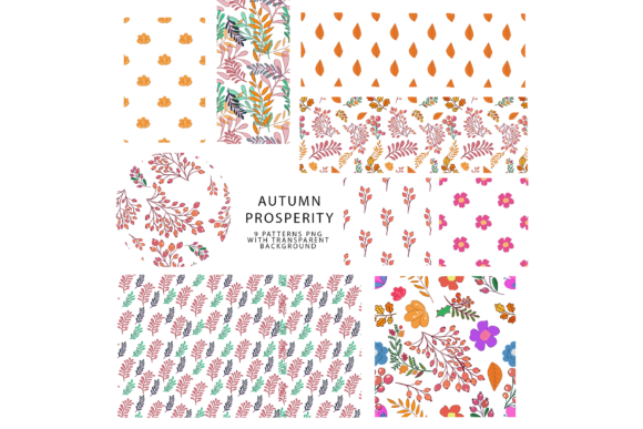 747 Pattern Bundle Graphic Patterns By BilberryCreate - Image 2
