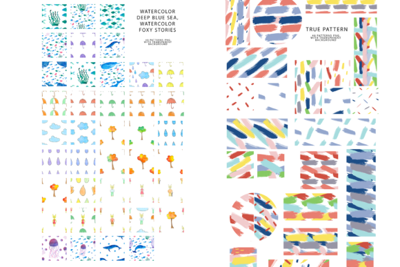 747 Pattern Bundle Graphic Patterns By BilberryCreate - Image 12