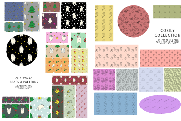747 Pattern Bundle Graphic Patterns By BilberryCreate - Image 4