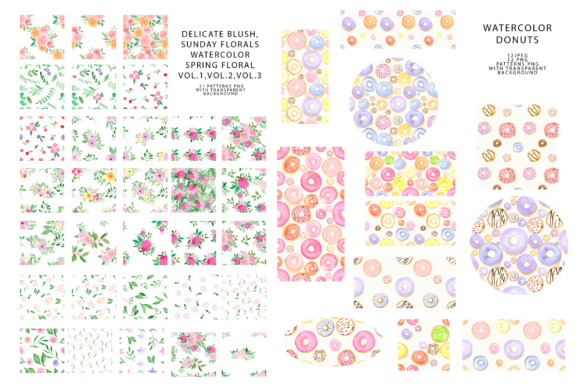 747 Pattern Bundle Graphic Patterns By BilberryCreate - Image 5