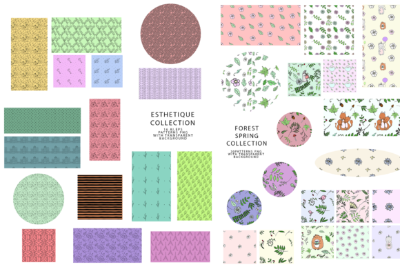 747 Pattern Bundle Graphic Patterns By BilberryCreate - Image 6