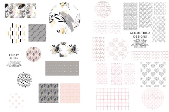 747 Pattern Bundle Graphic Patterns By BilberryCreate - Image 7
