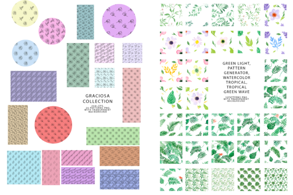 747 Pattern Bundle Graphic Patterns By BilberryCreate - Image 9