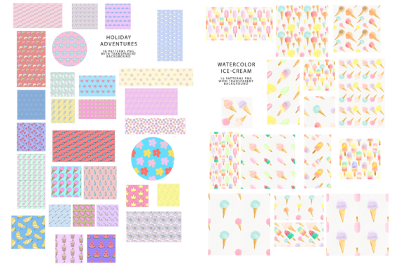 747 Pattern Bundle Graphic Patterns By BilberryCreate - Image 10