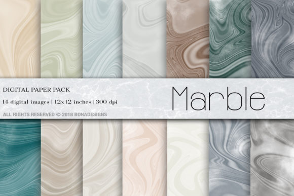 Abstract Marble Digital Paper