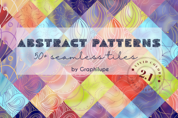 Abstract Patterns Vol. 2.1 Graphic Patterns By Graphilupe