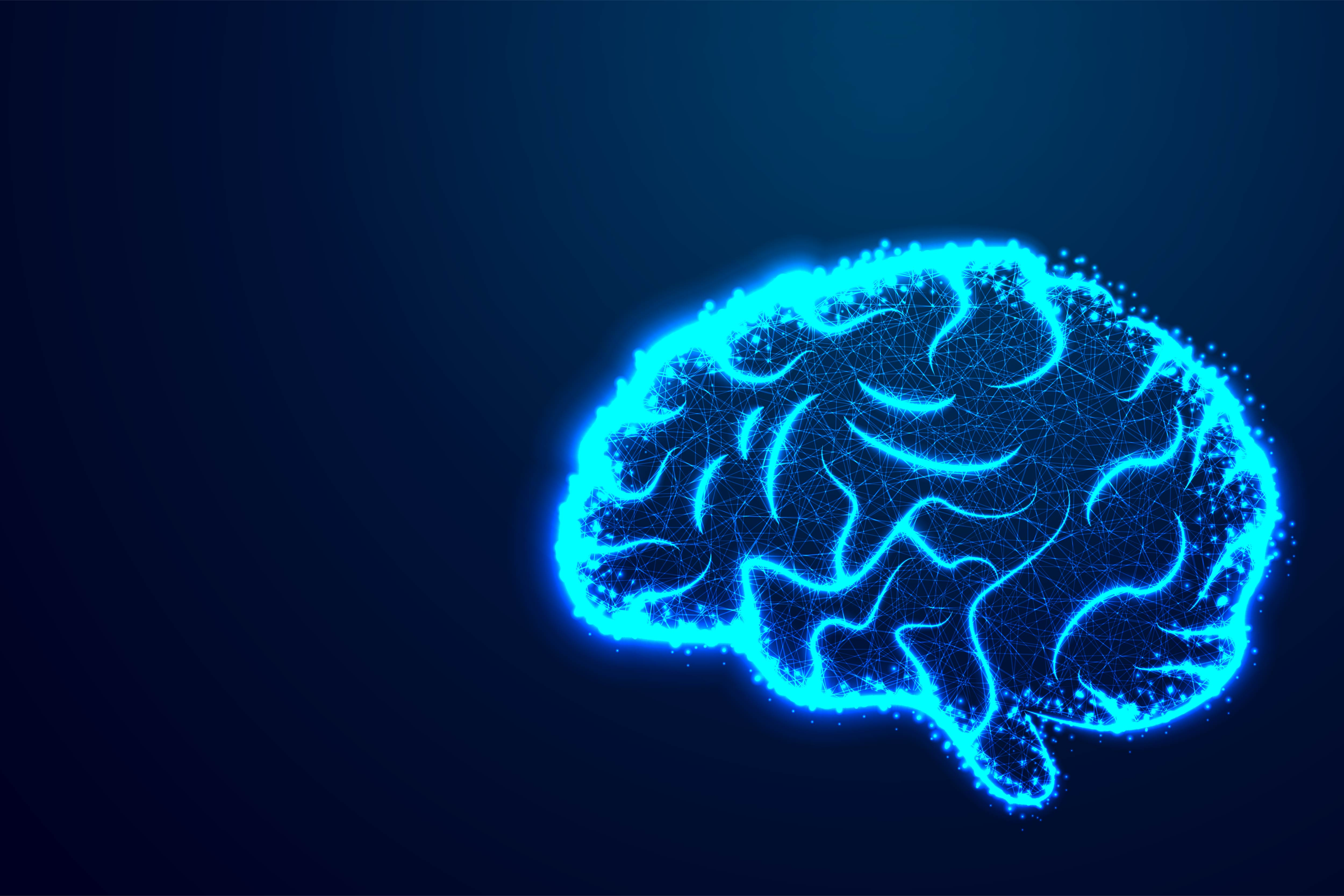 Download Free Abstract Vector Image Of A Human Brain Graphic By Ojosujono96 for Cricut Explore, Silhouette and other cutting machines.