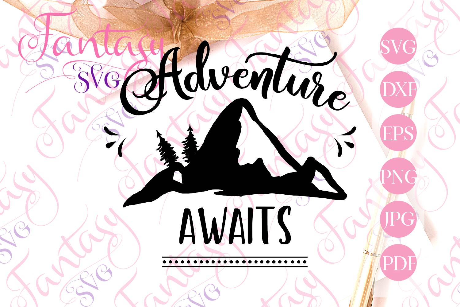 Adventure Awaits Graphic By Fantasy Svg Creative Fabrica