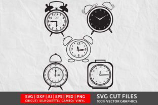 Alarm Clock SVG Graphic By Design Palace