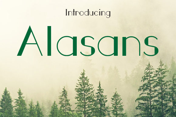 Print on Demand: Alasans Sans Serif Font By da_only_aan