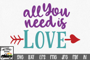 Download Free All You Need Is Love Svg Grafico Por Oldmarketdesigns Creative for Cricut Explore, Silhouette and other cutting machines.