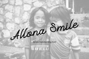 Allona Smile Font By Typeting Studio