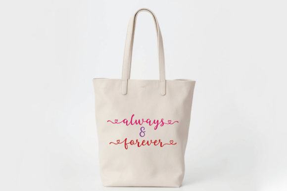 Always And Forever Svg Cut File Graphic By Oldmarketdesigns