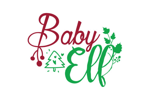 Download Free Baby Ell Svg Cut Graphic By Thelucky Creative Fabrica for Cricut Explore, Silhouette and other cutting machines.